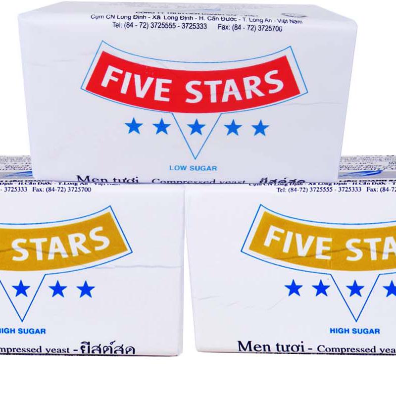 Five stars fresh yeast